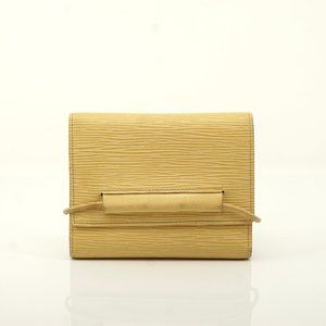 Auth Louis Vuitton Epi Portefeiulle #6222X51